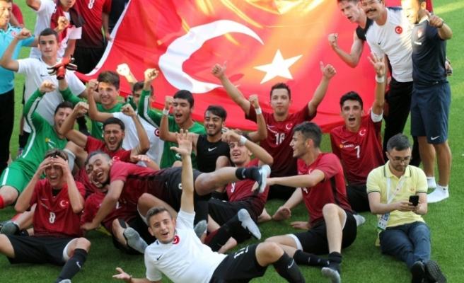 U21 İşitme Engelli Mill Futbol Takımı  Avrupa Şampiyonu