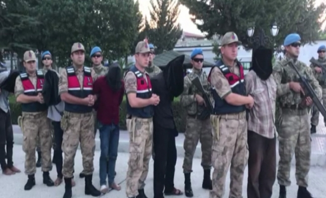 2 askerimizi şehit edip naaşlarını kaçıran 9 terörist, Türkiye'ye böyle getirildi