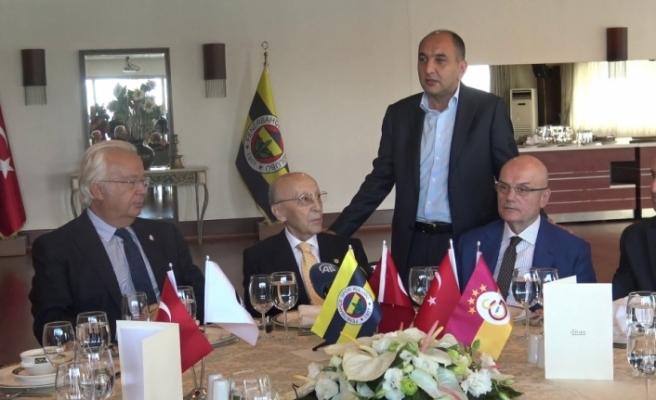 3 büyük kulübün Divan Başkanları buluştu