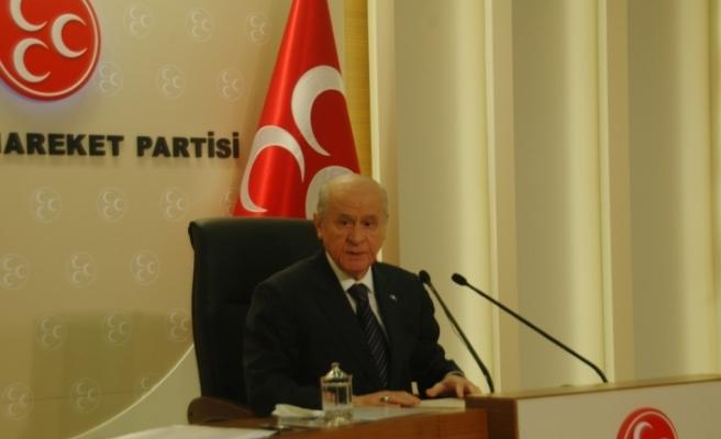 Açılış konuşmasını MHP lideri yapacak