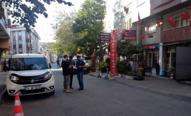 Alibeyköy'de sokak ortasında dehşet