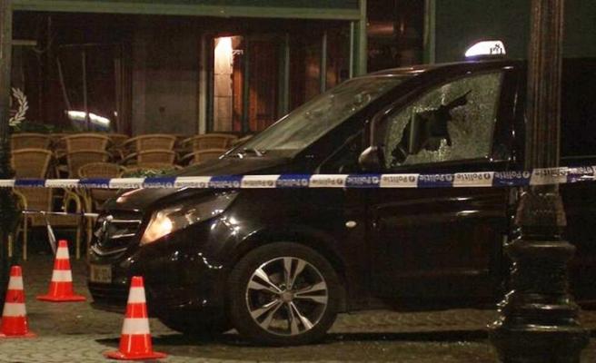 Belçika'da yabancı kökenli taksiciye silahlı saldırı