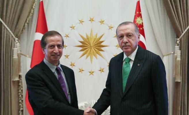 Erdoğan'a CALTECH'ten konuk