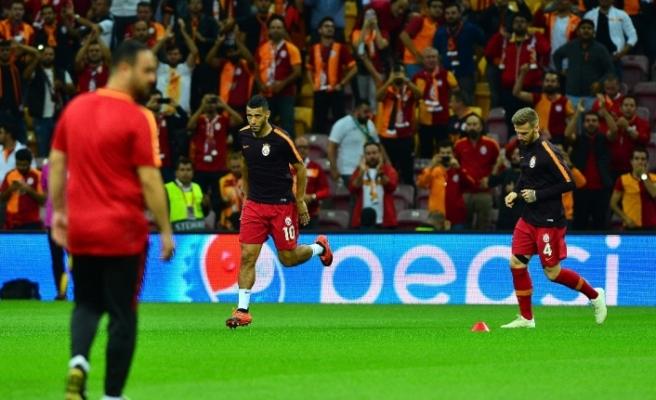 Galatasaray'da ilk 11'ler belli oldu