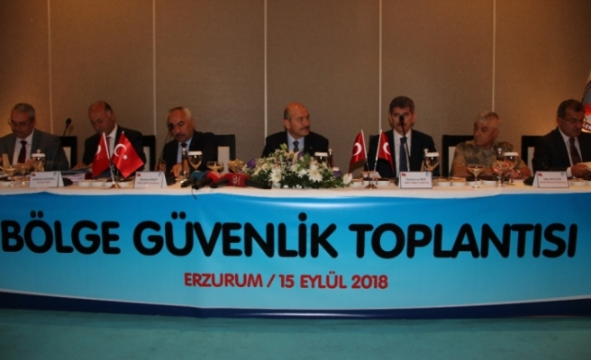 İçişleri Bakanı 'Bölge Güvenlik Toplantısı'nda