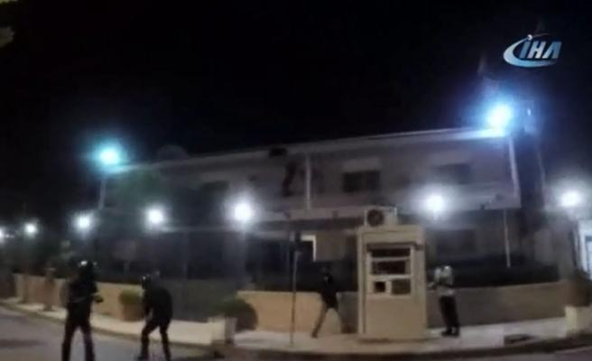 İran'ın Atina Büyükelçiliğine saldırı