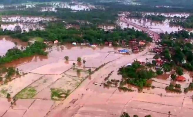 Laos'u tropikal fırtınalar vurdu: 55 ölü, 100 kayıp