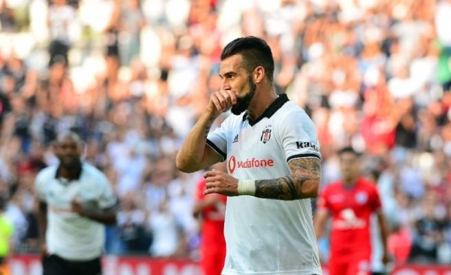 Negredo'dan Beşiktaş'a teşekkür