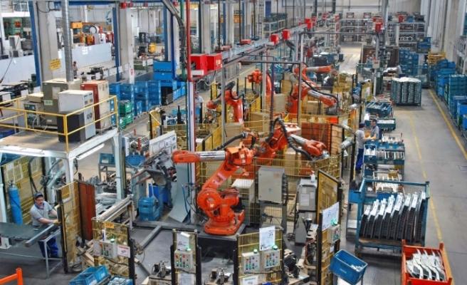 Sanayi sektöründe ciro yüzde 36,3 arttı