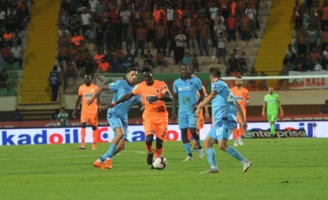 Trabzonspor, Alanya'da kayboldu
