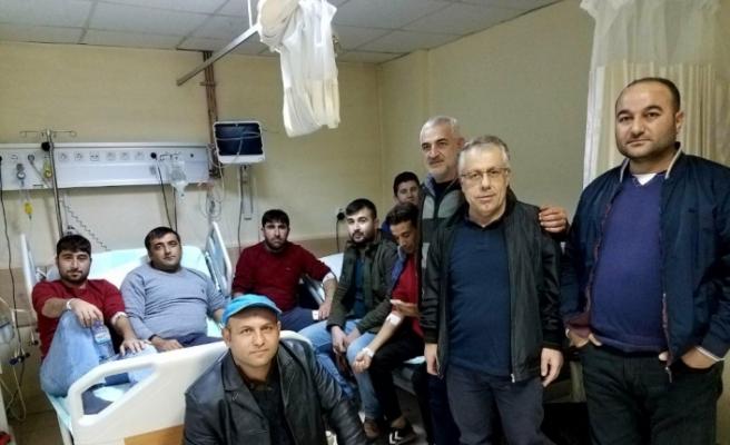 30 işçi hastanelik oldu