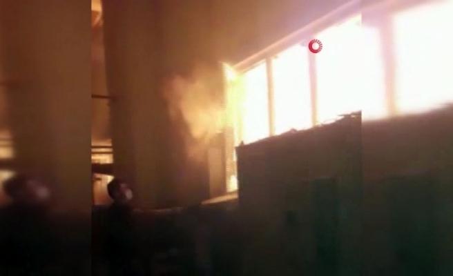 3 fabrikayı saran yangın böyle başladı