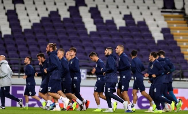 Anderlecht maçı hazırlıkları tamamlandı