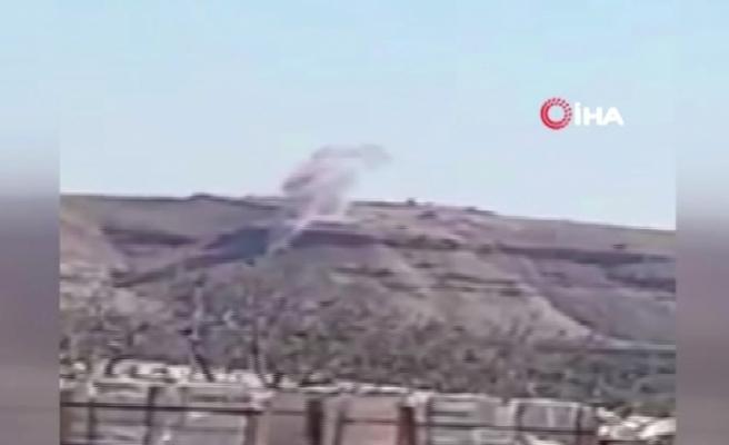 Askeri kaynaklar: Teröristlerin açtığı ateşe karşılık verildi