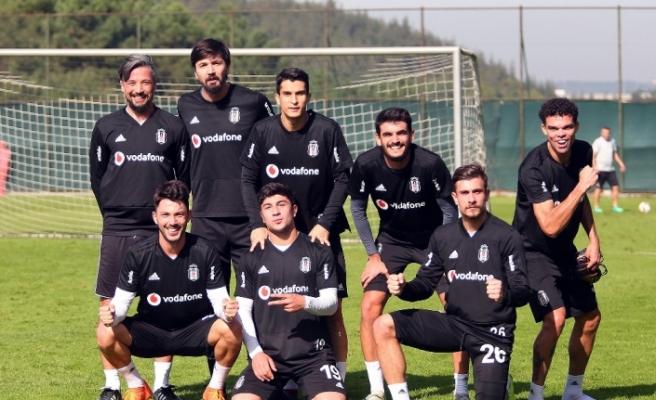 Beşiktaş Başakşehir maçı hazırlıklarına başladı