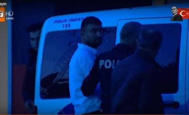 Canlı yayında itiraf etti, polis gözaltına aldı