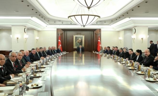 Erdoğan TİM heyetini kabul etti