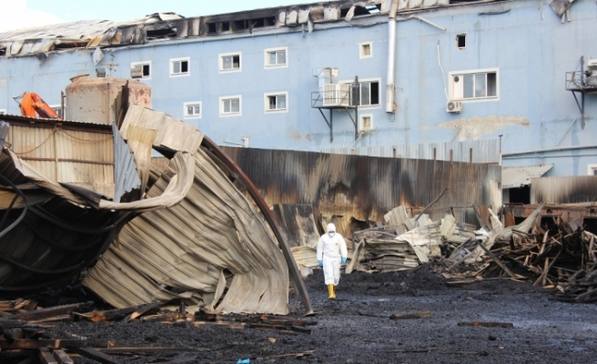 Esenyurt'taki yangında yaklaşık 100 milyon liralık hasar