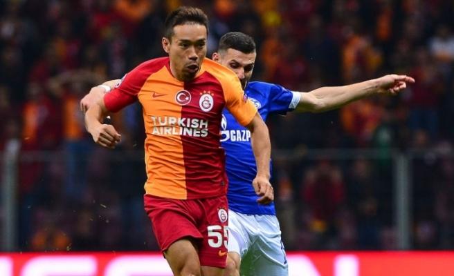 Galatasaray'a bir şok da Nagatomo'dan