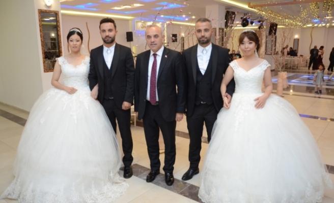 Japon gelinlere 'Türk' düğünü