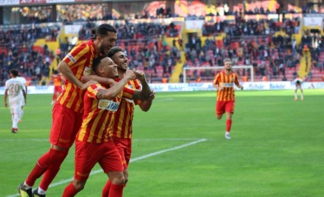 Kayserispor: 2 - DG Sivasspor:0
