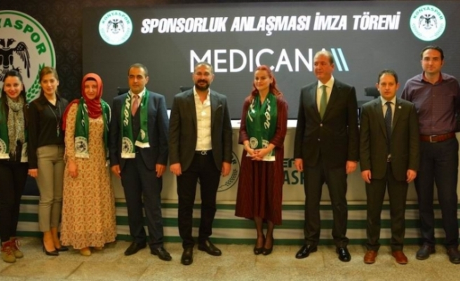 Konyaspor, Medicana ile sponsorluğunu yeniledi
