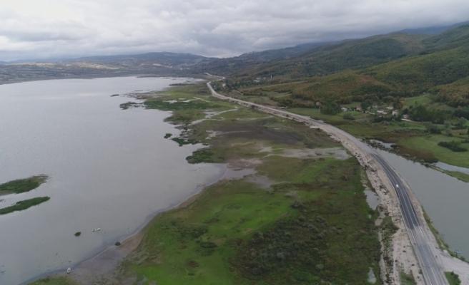 Ladik Gölü kuruma tehlikesiyle karşı karşıya