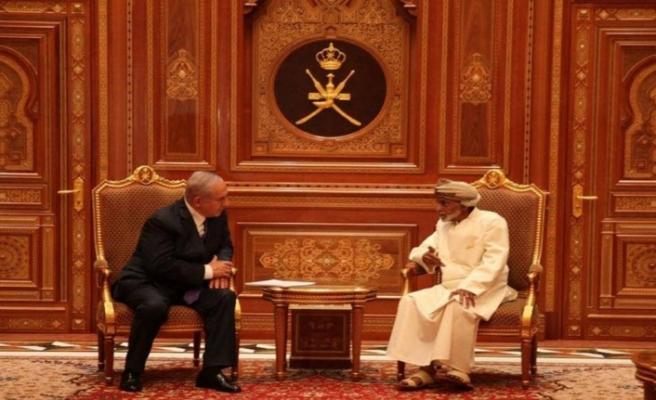 Netanyahu Umman'ı ziyaret etti