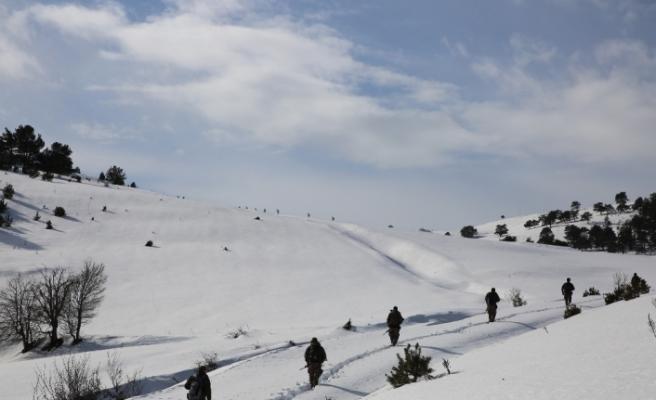 PKK Karadeniz'de kış üstlenmesi yapamadı