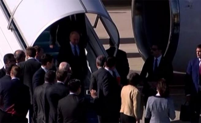 Putin Suriye zirvesi için İstanbul'da