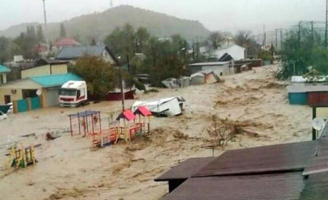 Rusya'da sel felaketi: 1 ölü