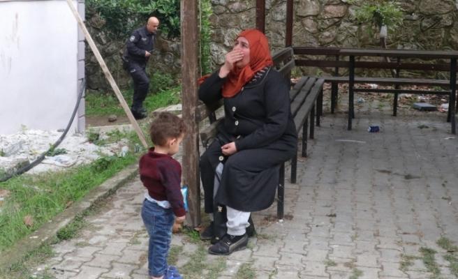 Şarjdaki cep telefonu 7 kişilik Suriyeli ailenin evini kül etti