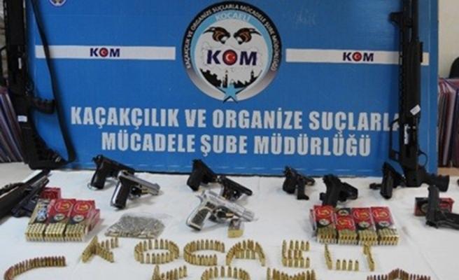 Silah kaçakçılarına büyük darbe: 25 gözaltı