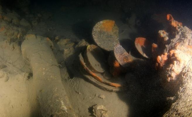 Su altında 250 yıllık Rus savaş gemisi bulundu