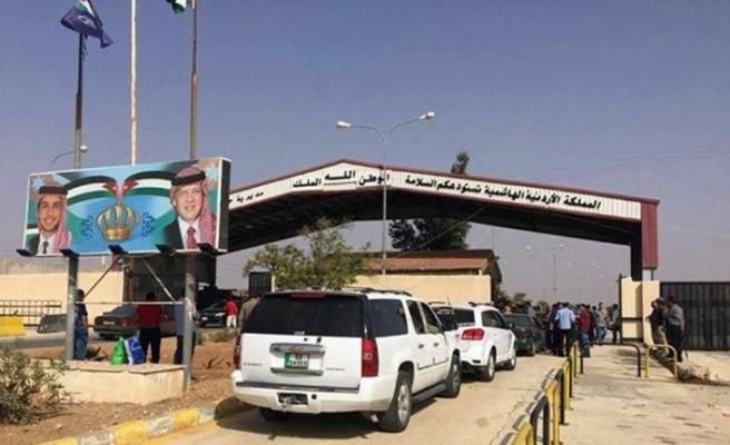 Suriye-Ürdün sınırı yeniden açıldı