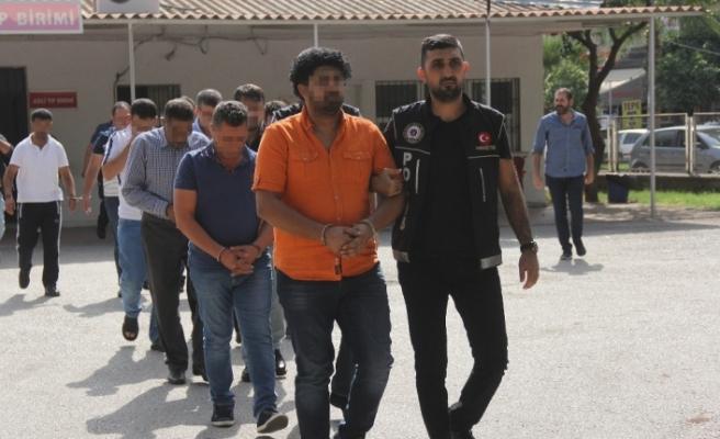 Suriyeli torbacılara operasyon: 24 gözaltı