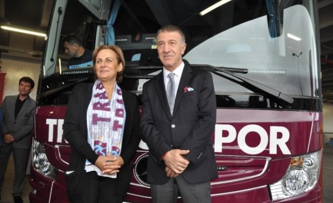 Trabzonspor'a yeni otobüs