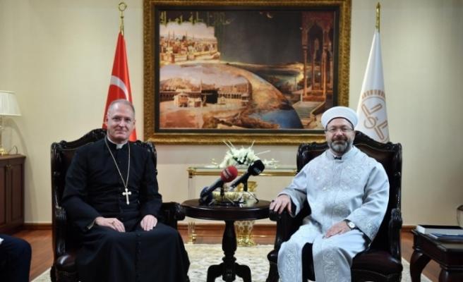 Vatikan Büyükelçisi'ne 'İslamofobia' uyarısı
