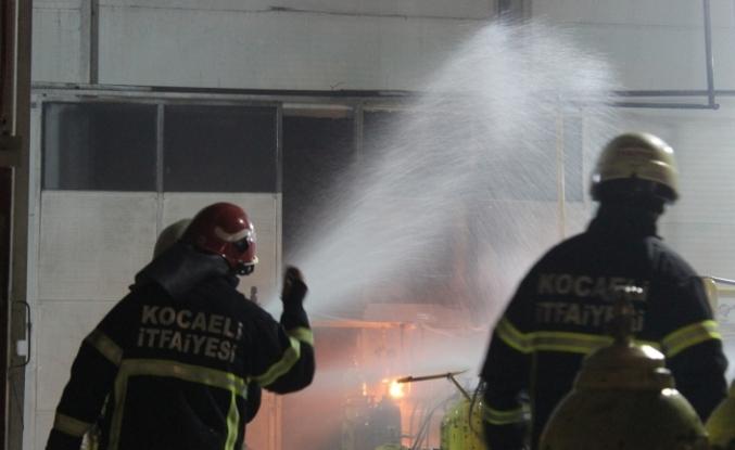 Gaz dolum fabrikasında yaşanan patlama