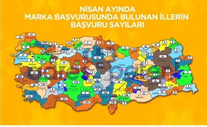 Türkiye'nin marka başvuru sayısını açıklandı