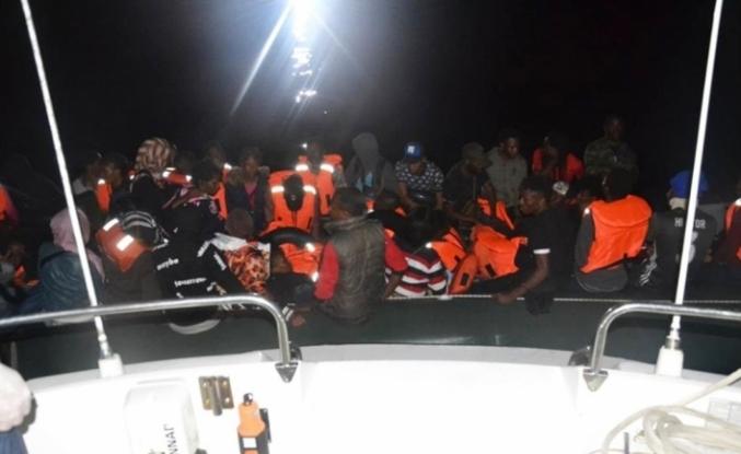 Ege'de 43 kaçak göçmen yakalandı