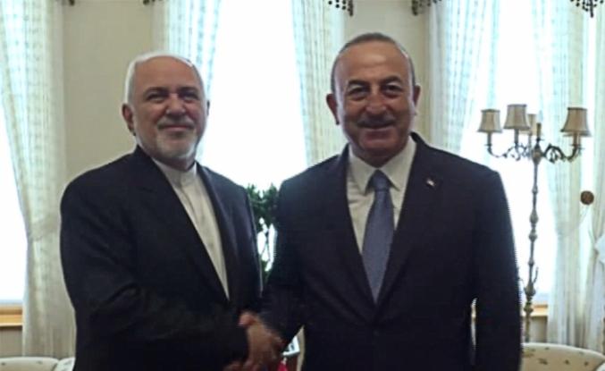Çavuşoğlu, İranlı mevkidaşı ile bir araya geldi