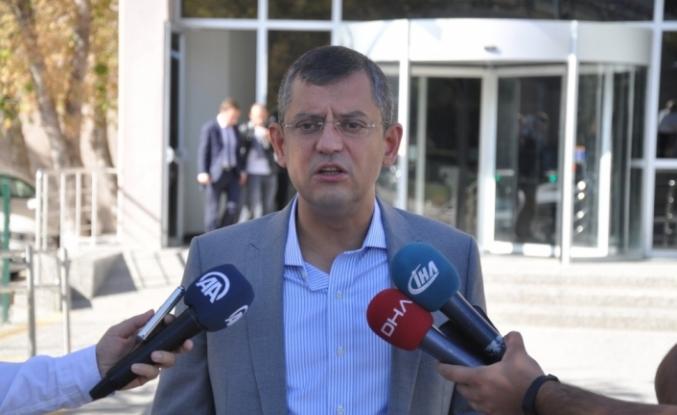 CHP'li Özel, Akşener ve Türkkan ile görüştü