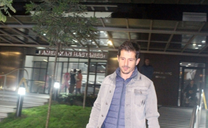 Emre Belözoğlu'ndan Turan'a bebek ziyareti