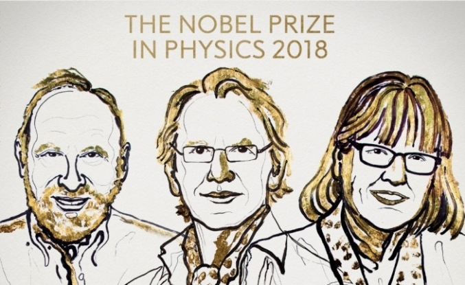 Nobel Fizik Ödülü 3 isme gitti