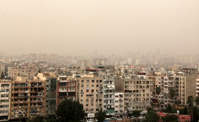 Toz bulutu Mersin'e ulaştı
