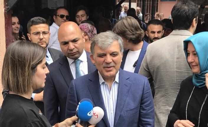 Gül'ün sandığından Erdoğan birinci çıktı